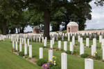 Sucrerie Military Cemetery, Colincomps, Somme, France
