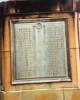 Auckland Grammar School War Memorial, Panel 1, bronze plaque, names Brown - Darrow (photo: P. Baker 2008) - No known copyright restrictions