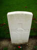 Gravestone at Prowse Point Military Cemetery provided by Paul Hickford 2011 - No known copyright restrictions