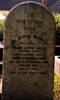 Photo of gravestone at Karori Cemetery, Wellington, provided by Paul F. Baker. - No known copyright restrictions