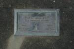 Gravestone, Wellsford Cemetery (photo J. Halpin January 2011) - This image may be subject to copyright