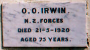 Marble memorial plaque, Waikaraka Veterans' Memorial Wall (photo Paul Baker February 2008) - No known copyright restrictions