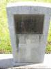 Headstone, Featherston Cemetery (photo Adele Pentony Graham) - No known copyright restrictions