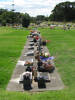 Grave, wide view, Manukau Memorial Gardens Cemetery (photo Sarndra Lees 2010) - This image may be subject to copyright