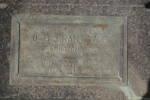 Headstone, Waikumete Cemetery (photo J. Halpin 2011) - No known copyright restrictions