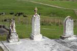 Family grave plot with memorial, Port Albert Cemetery (photo John Halpin 2010) - CC BY John Halpin