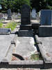 Wide view grave at Linwood Cemetery provided by Sarndra Lees 2011 - Image has All Rights Reserved.