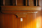 Detail, dedication inscription below for WW1 and WW2 , Roll of Honour, Holy Trinity Church, Devonport (photo J. Halpin, 2013) - No known copyright restrictions