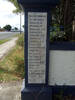 Sanson School Memorial, marble plaque, Roll of Honour names Alsop - Lawrence C.C. (photo G. Fortune) - Image has All Rights Reserved