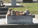 Detail, family memorial, Linwood Cemetery, Christchurch (Photo Sarndra Lees, 2009) - Image has All Rights Reserved.