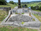 Family grave, Helensville Cemetery (provided by Sarndra Lees 2012) - This image may be subject to copyright
