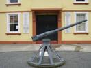 Porongia Memorial Hall, Hotchkiss Gun No 138 (photo May 2010) - No known copyright restrictions