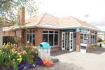 Wellsford Memorial Library, side (photo John Halpin November 2010) - CC BY John Halpin