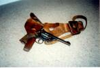 The gun or revolver owned by A.S. Arnold - No known copyright restrictions