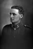 1/4 portrait of Private John Herbert Thompson, Reg No 12/3494, of the 3rd (Auckland) Regiment, Auckland Infantry Regiment, 8th Reinforcements, - A Company. (Photographer: Herman Schmidt, 1915). Sir George Grey Special Collections, Auckland Libraries, 31-T1206. No known copyright.