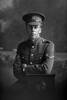 3/4 portrait of Lance Corporal Ernest Robert Baker, Reg no. 46260, Auckland Infantry Regiment - A Company, 25th Reinforcements (Photographer: Herman Schmidt, 1917). Sir George Grey Special Collections, Auckland Libraries, 31-B2668. No known copyright.