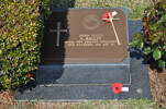 Gravestone at UN Cemetery Pusan, Korea for 207931 Allwyn Bailey. No Known Copyright.