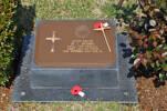 Gravestone at UN Cemetery Pusan, Korea for 817039 Herbert Humm. No Known Copyright.