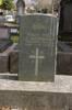 Headstone of J. Abraham. Pukekohe Cemetery, Wellington Street, Pukekohe, New Zealand. Image provided by John Halpin (2015). Image has no known copyright restrictions.