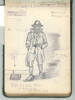 Drawing by J. C. Gibbs. Swarbrick, Margaret. Miscellaneous papers, 1914 - 1947. Auckland War Memorial Museum Library. MS-1468. Image has no known copyright restrictions.