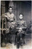 Portrait of David and Alfred Aghan. Image kindly provided by Aghan family. Image has no known copyright restrictions.