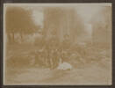 Unknown, photographer (1916).  At Chateau 'Poultieres', Somme. 1916. Auckland War Memorial Museum - Tāmaki Paenga Hira, A. G. Macdonald Album 2 PH-ALB-546-p18-1. Image has no known copyright restrictions.