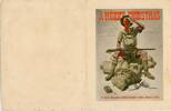 Front cover of Christmas card written to Gunner Desmond Seymour Stokes (26214) in 1941. Image kindly provided by John Stokes (March 2017). Image may be subject to copyright restrictions.