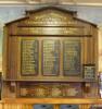 Canvastown War Memorial Roll of Honour, First World War. Image provided by John Halpin 2017, CC BY John Halpin 2017