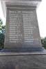Kaikoura War Memorial, First World War. Leitch to Thomas. Image provided by John Halpin 2017, CC BY John Halpin 2017.