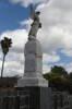 Kaitaia War Memorial Angel statue, Melba Street, Kaitaia. Image provided by John Halpin 2012, CC BY John Halpin 2012