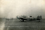 Photograph of Ventura aircraft taking off at RAF Methwold, c.Second World War. Image kindly Image kindly provided by Robert Pye (1997). Image may be subject to copyright restrictions.