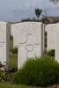 Headstone of Private Andrew Paterson Mitchell (45105). Nine Elms British Cemetery, Poperinge, West-Vlaanderen, Belgium. New Zealand War Graves Trust (BEDA9525). CC BY-NC-ND 4.0.