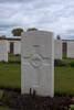 Headstone of Private Eric William Cobeldick (31958). Mud Corner Cemetery, Comines-Warneton, Hainaut, Belgium. New Zealand War Graves Trust (BECX7749). CC BY-NC-ND 4.0.