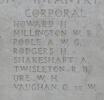 Headstone of Corporal Harold Howard (10351). Tyne Cot Memorial, Zonnebeke, West-Vlaanderen, Belgium. New Zealand War Graves Trust (BEEH7913). CC BY-NC-ND 4.0.