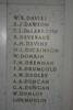 Auckland War Memorial Museum, South African War 1899-1902 Names Davies, W.R. - Du Moulin, L. (digital photo J. Halpin 2011)
