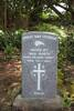 Gravestone of Private Nga Naeiti 60769. Image courtesy of Bobby Nicholas, Paula Paniani and Cate Walker, Cook Islands WW1 NZEF ANZAC Soldiers Research Project (October 2019). Image is subject to copyright restrictions.