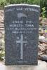 Gravestone of Private Mareto Tima 84532. Image courtesy of Bobby Nicholas, Paula Paniani and Cate Walker, Cook Islands WW1 NZEF ANZAC Soldiers Research Project (October 2019). Image is subject to copyright restrictions.