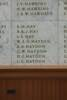 Auckland War Memorial Museum, World War II Hall of Memories Panel  H_013. Image taken June 2020.