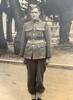 Photograph of Ernest Leslie Garth Cattermole in uniform at Burnham Military Camp, 1940. Image kindly provided by Lynette Low (September 2020).