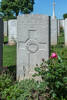 Headstone of Private Alan Greenhow (65514). Beaulencourt British Cemetery, France. New Zealand War Graves Trust (FRBV2413). CC BY-NC-ND 4.0.