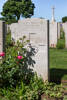 Headstone of Private Stanley Richard Hollis (65399). Beaulencourt British Cemetery, France. New Zealand War Graves Trust (FRBV2415). CC BY-NC-ND 4.0.