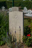 Headstone of Flying Officer Edgar James Kain (39534). Choloy War Cemetery, France. New Zealand War Graves Trust (FRDY4324). CC BY-NC-ND 4.0.