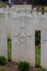 Headstone of Rifleman William Thomas Cain (65343). Gezaincourt Communal Cemetery Extension, France. New Zealand War Graves Trust (FRGZ6894). CC BY-NC-ND 4.0.