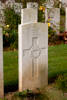 Headstone of Private John Francis Fogarty (34572). Ancre British Cemetery, France. New Zealand War Graves Trust  (FRAK6918). CC BY-NC-ND 4.0.