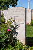Headstone of Private Stanley Richard Hollis (65399). Beaulencourt British Cemetery, France. New Zealand War Graves Trust  (FRBV2416). CC BY-NC-ND 4.0.