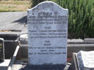 Headstone of Capt Frederick Neville HOUSTON x. Andersons Bay General Cemetery, Dunedin City Council, Block 18, Plot 14. Image kindly provided by Allan Steel CC-BY 4.0.