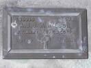 Headstone of Dvr Allan John Joseph Ward WILSON 288038. Andersons Bay RSA Cemetery, Dunedin City Council, Block 37S20. Image kindly provided by Allan Steel CC-BY 4.0.