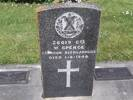 Headstone of Cpl William SPENCE GB26019. Andersons Bay RSA Cemetery, Dunedin City Council, Block 15SF, Plot 12. Image kindly provided by Allan Steel CC-BY 4.0.