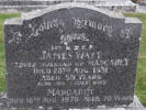 Headstone of tPR James WATT 35927. East Taieri Cemetery, Dunedin City Council, Block B6. Image kindly provided by Allan Steel CC-BY 4.0.