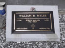 Headstone of L/Cpl William Bain Myles 211104. Andersons Bay General Cemetery, Dunedin City Council Block 57, Plot 51. Image kindly provided by Allan Steel CC-BY 4.0.